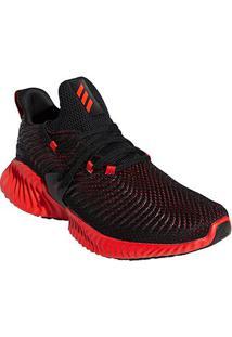 Tênis Adidas Alphabounce Instinct Masculino - Masculino-Preto+Vermelho