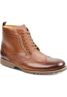 Bota Dress Boot Masculina Sandro Moscoloni Donatello Marrom Claro