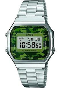 1b4399fa0a2ca R  289,00. Zattini Relógio Manual Digital Feminino Unissex Inox Vidro  Resina Casio ...