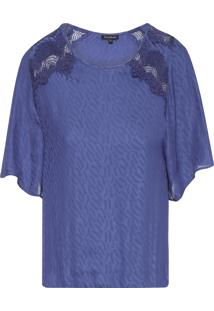 Blusa Feminina Felipa - Azul