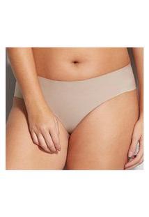 Calcinha Tanga Brasileira Nude Hope 3880 P/Eg Camurca