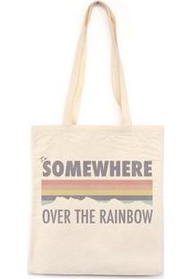 I`M Somewhere Over The Rainbow - Bolsa De Lona-Off White-U