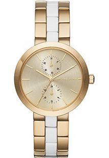 Relógio Michael Kors Analógico - Feminino-Dourado