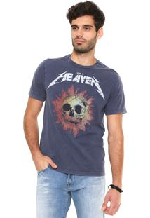 Camiseta John John Skull Sun Azul