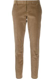 Dsquared2 Slim Corduroy Trousers - Marrom
