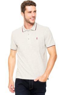 Camisa Polo Sergio K Regular Bege
