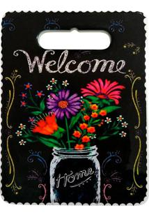 Descanso De Panela Flowers Cortiça 20X15Cm - 29878