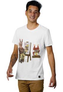 Camiseta Perplex King Card Branco