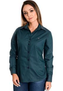 Camisa Pimenta Rosada Mahina Verde