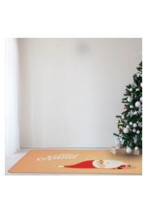 Tapete De Natal Para Sala Papai Noel Dormindo Único