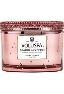 Vela Pote P 60 Horas Caixa Sparkling Rose Voluspa
