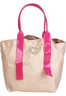 Bolsa Petite Jolie Shopper Jill Feminina - Feminino-Pink