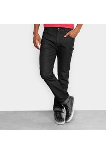 Calça Jeans Slim Ellus Fit Black Masculina - Masculino