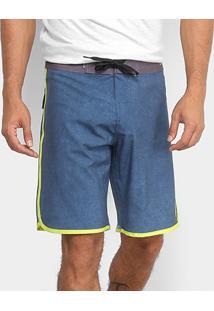 Boardshort Quiksilver Fifty Scallop Masculino - Masculino-Azul Turquesa