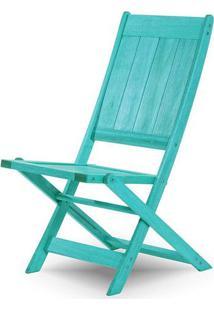 Cadeira Retangular Dobravel Acqualung+ S/Braco Azul 99Cm - 61636 - Sun House