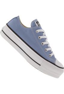 Tênis Converse All Star Chuck Taylor Plataforma - Feminino - Azul Claro