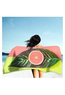 Toalha De Praia / Banho Tropical Summer Único