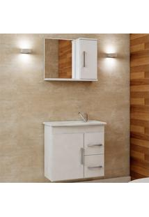 Armário Vix Para Banheiro 1 Porta C/Espelho - Mgm