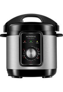 Panela De Pressão Elétrica Mondial Pratic Cook Premium Pe-47-3L-I Preta 3L - 220V