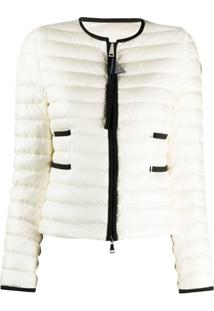 Moncler Baillet Short Puffer Jacket - Branco