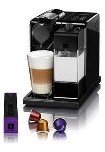 Cafeteira Expresso Nespresso Lattissima 19 Bar Preta Com Kit 16 Cápsulas De Boas Vindas