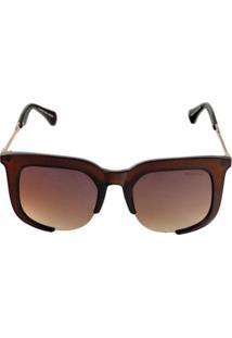 962125095f47e R  119,90. Zattini Óculos De Sol Khatto Chic Chic Feminino - Feminino-Marrom