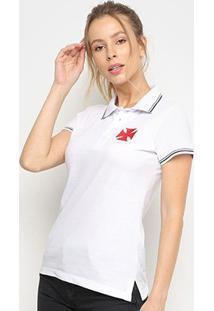 Camisa Polo Vasco Hat Trick Feminina - Feminino