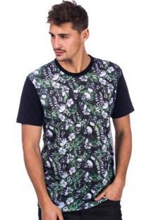 Camiseta Long Island Caveiras Masculina - Masculino