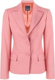 Pinko Blazer Clássico - Rosa