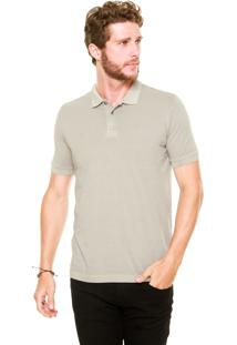 Camisa Polo Forum Custom Bege