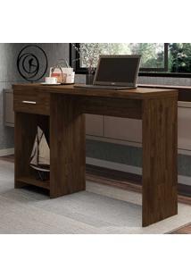 Mesa Para Computador 1 Gaveta Prisma New Rustic - Móveis Germai