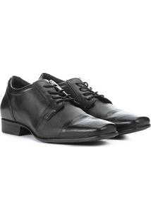 Sapato Couro West Coast Valentino I Masculino - Masculino-Preto