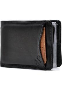 Carteira Couro Hendy Bag Com Porta-Cartão - Masculino