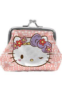 Porta Moedas Hello Kitty Purple Lace, Urban, Rosa