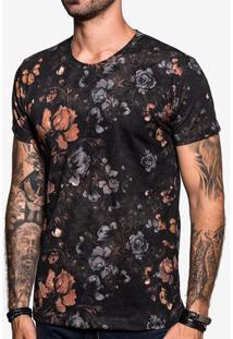 Camiseta Floral Dark 103849