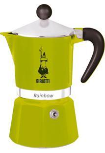 Cafeteira Bialetti Rainbow Verde 3 Xícaras - 29955
