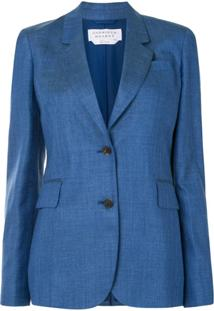 Gabriela Hearst Herringbone Tailored Blazer - Preto