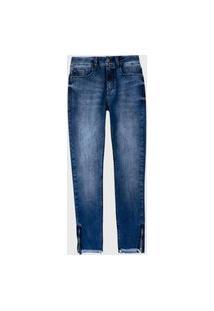 Calça Jeans Hering Lavagem Azul