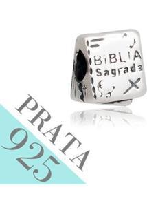 Pingente Kumbayá Biblia Memories 925 Feminino - Feminino-Prata