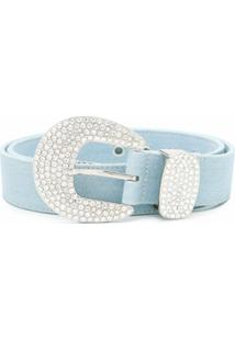 B-Low The Belt Cinto Jeans Brittany - Azul