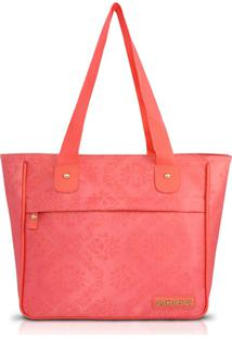 Bolsa Shopper Jacki Design Abc15083 Salmão