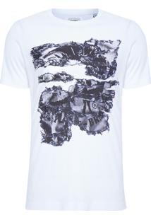 T-Shirt Masculina Joe-Nc Maglietta - Branco
