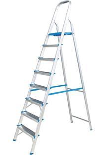 Escada Residencial De Alumínio Alumasa 8 Degraus