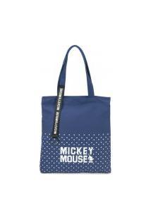 Bolsa Feminina Tote Disney Mickey