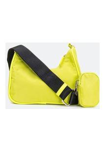 Bolsa Transversal Mini Bag Com Porta Moedas