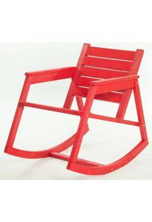 Cadeira Balanco Janis Vermelha 80Cm - 61407 - Sun House