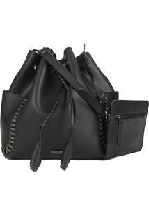 Bolsa Shoestock Bucket Tiras Feminina