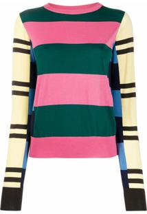 Colville Blusa Color Block - Rosa