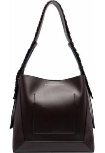 Stella Mccartney Bolsa Eco Soft Mini - Roxo