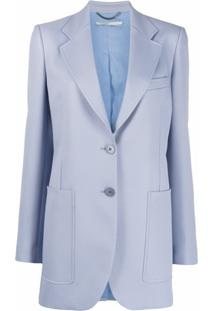 Stella Mccartney Blazer Slim - Azul